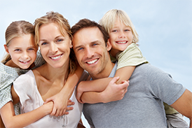 Family with Louisiana Insurance Coverage